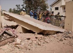 Al menos dos muertos y 46 heridos en un atentado contra una iglesia en Nigeria. EFE