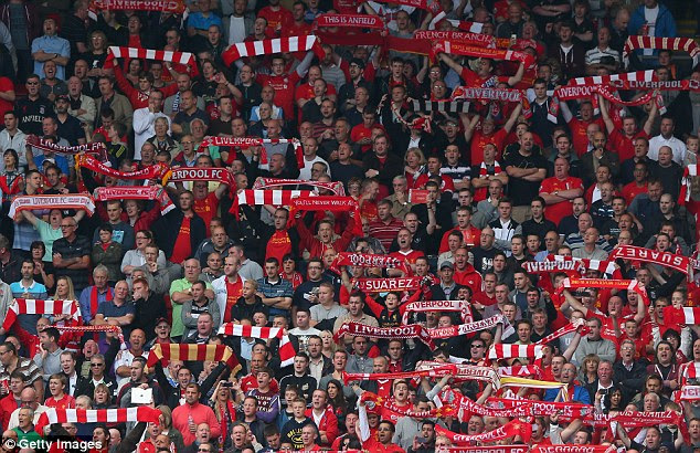 Liverpool supporters were voted the second loudest in the Premier League over the past year