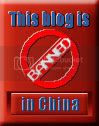 Banned in China.
