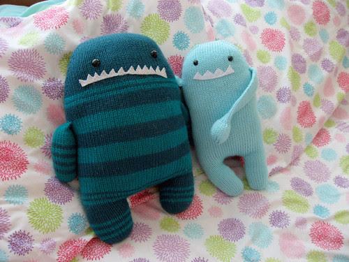 Gort and his grumpy cousin, Hugo