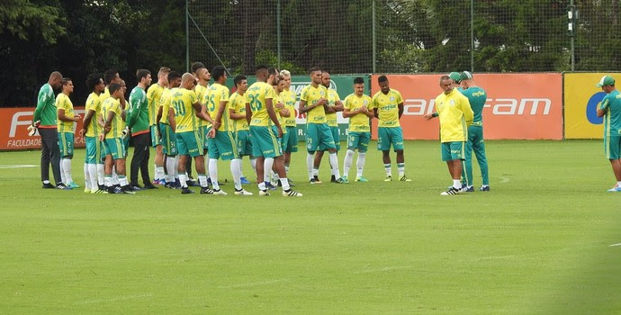 Treino Palmeiras (Foto: Felipe Zito)