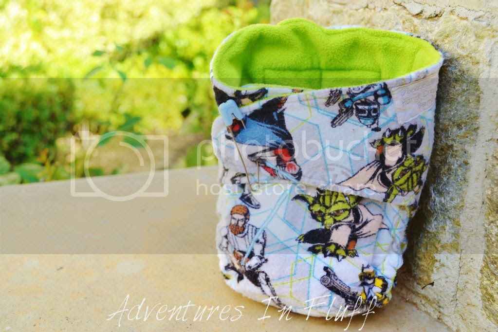 Poodelum & Missy Kate One-Size Fitted Cloth Diaper
