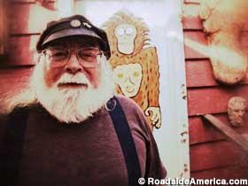 Mike Rugg, Bigfoot expert, museum owner/curator.