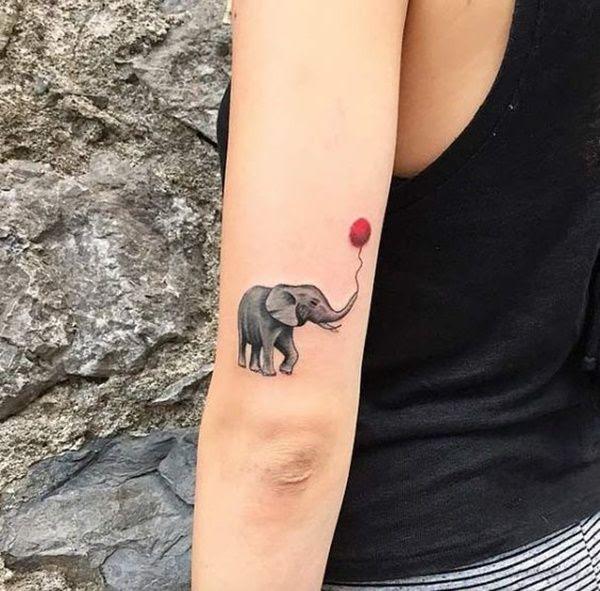 30 Mejores Tatuajes De Elefantes Y Su Significadotop 2018