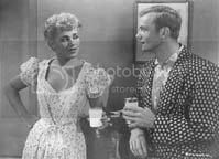 Judy Holliday and Aldo Ray in 'The Marrying Kind'