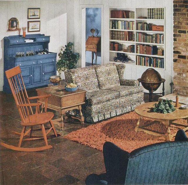 Early American Living Room Furniture - Modern House