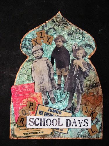 School Days Fancy Gothic Arch 012