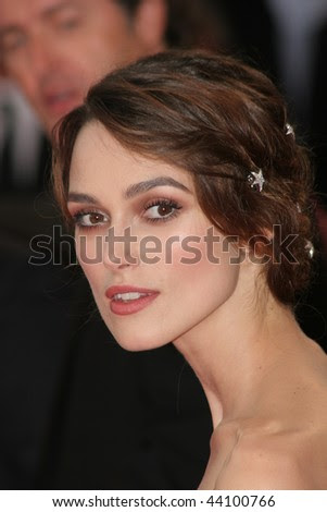 stock photo : VENICE - AUGUST 29:Keira Knightley arrives for the Opening