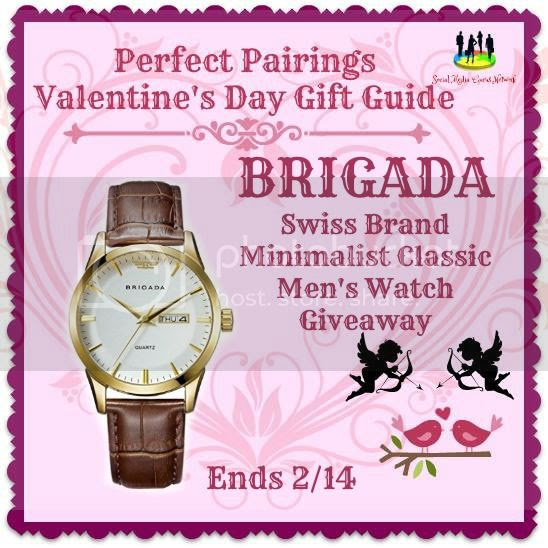Enter the BRIGADA Men's Watch Giveaway. Ends 2/14