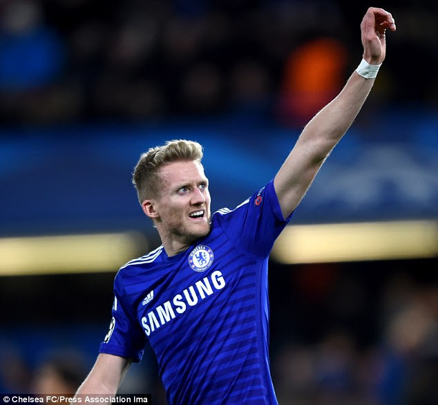 Andre Schurrle appears to have played his last game for Chelsea after they agreed to cash in on the forward