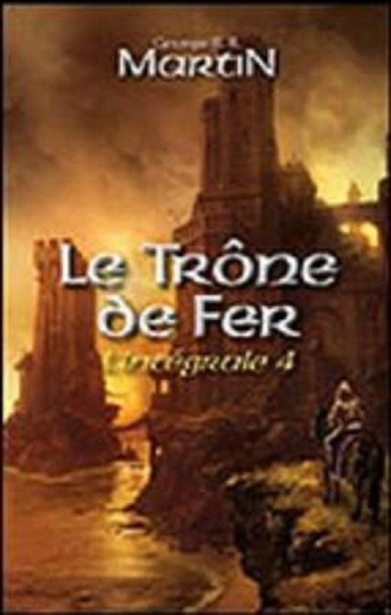 Couverture Le Trône de Fer, intégrale, tome 4