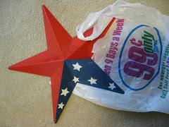 Plastic Star Before