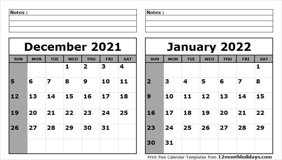 Uiuc Calendar Spring 2022.Calendar December 2021 January 2022 2022 Calendar
