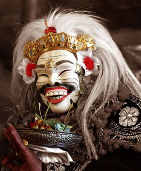 sejarah  makna topeng sidakarya mantra hindu bali