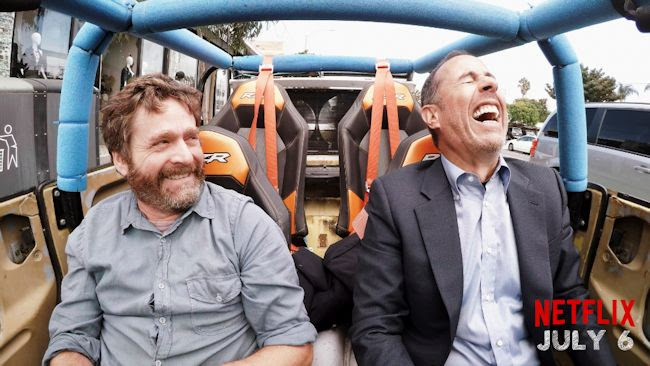 Zach Galifinakis and Jerry Seinfeld - Comedians in Cars Getting Coffee