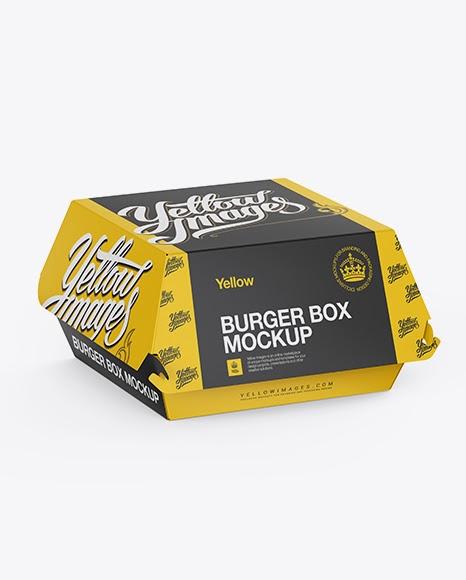 Download Burger Box Mockup Free Psd Yellowimages