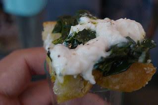 SF Chefs 2012 - Burrata Tuscan Kali Ciabatta