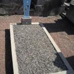Les dix tombes musulmanes du cimetière