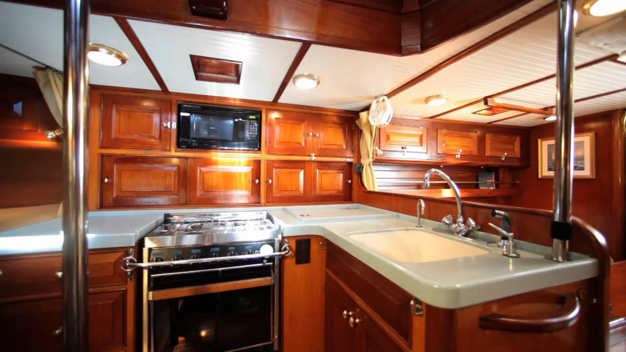 "55' Classic Sailing Yacht ""Pasha"" - YouTube"