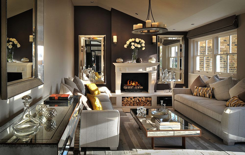 30 Mirrored Coffee Tables that Add a Sparkle to Your Home!