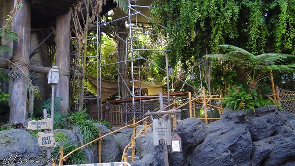 Disneyland Resort, Disneyland, Tarzan Treehouse, Refurb, Refurbishment