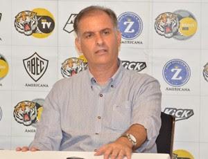 Carlos Octávio técnico Rio Branco-SP (Foto: Sanderson Barbarini / Foco no Esporte)