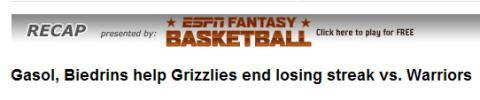 ESPN header