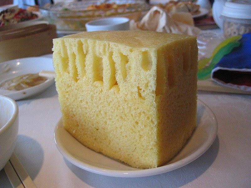 File:Sponge cake at Top Cantonese Restaurant.jpg