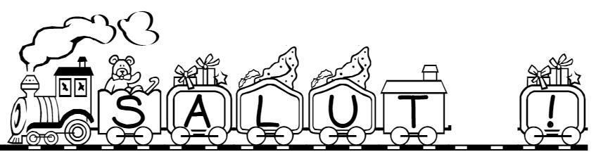 Imprimer Son Prénom Lettres Train Wagons Locomotive Pour Faire Un