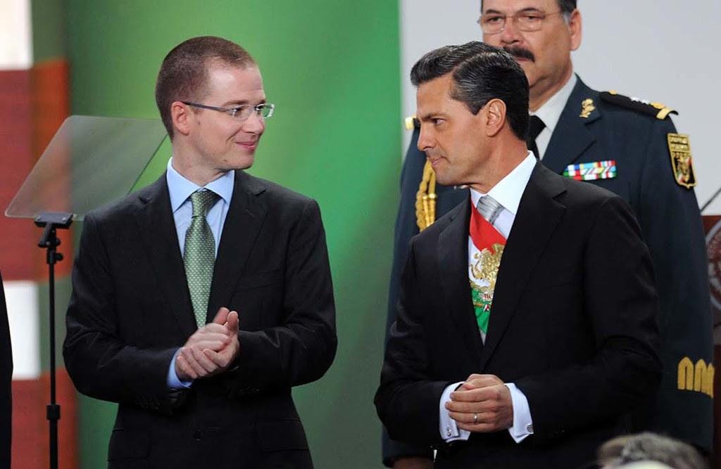Ricardo Anaya y Enrique Peña Nieto.