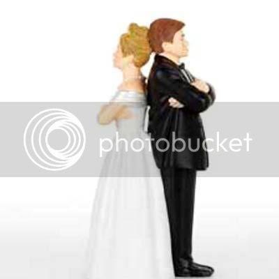 ANGRY BRIDE AND GROOM