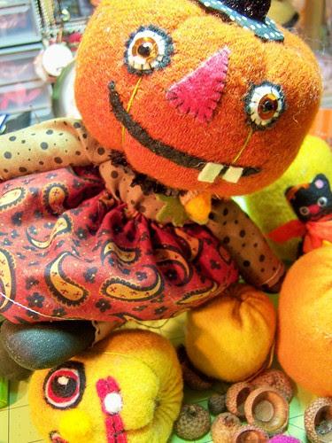 pumpkin heads!