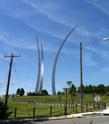 Air Force Memorial by Team Exergy