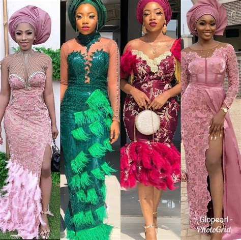New 2019 Aso ebi Styles BE IN TREND THIS 2019 50 DESIGNS