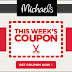Michaels Craft Store: Current Coupon plus Clearance Finds
