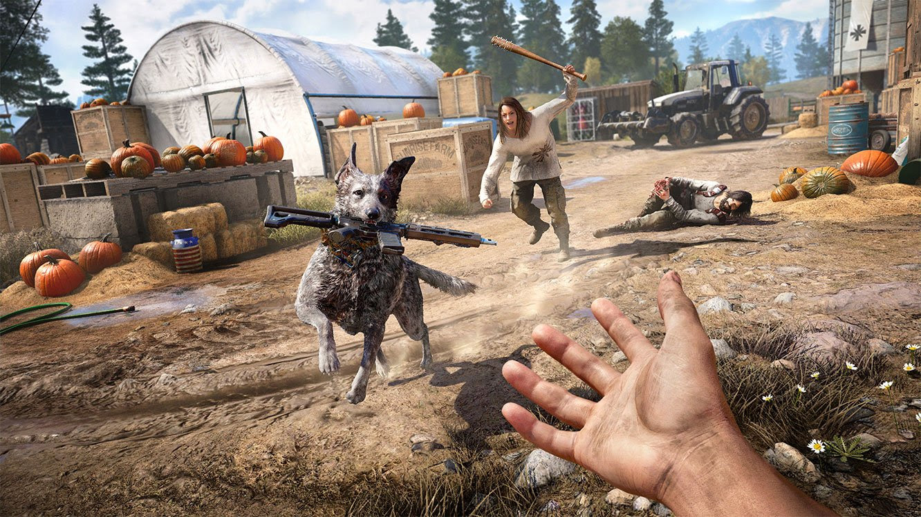 Far Cry 5's story will need to do the heavy lifting screenshot