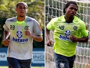 montagem Welinton Diego Mauricio Flamengo