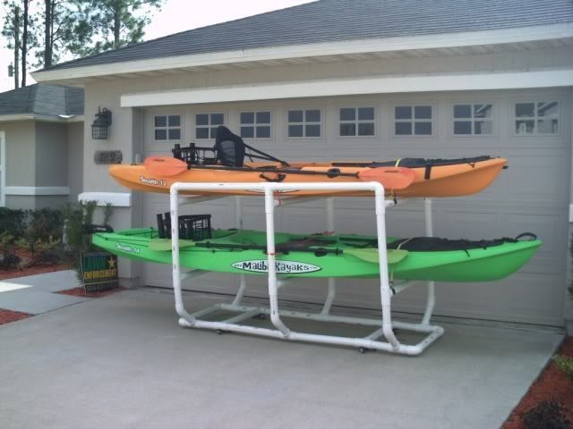 Fishing Boat Download Diy Kayak Storage Rack Pvc