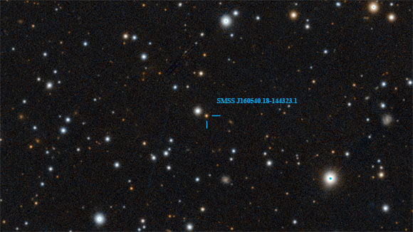 Astronomers Discover Milky Ways Most Iron Poor Star