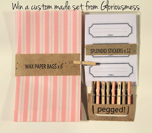 Win a custom made set from Gloriousmess