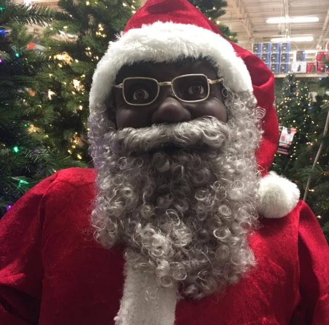 Home Accents Black Santa Claus Animated Prop Review