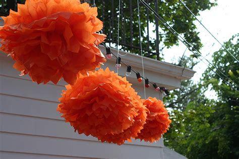 DIY Wedding Decorations   How to Make Paper Poofs   BravoBride