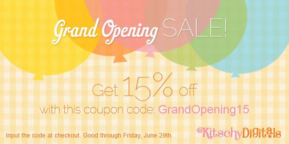 Kitschy Digitals Grand Opening