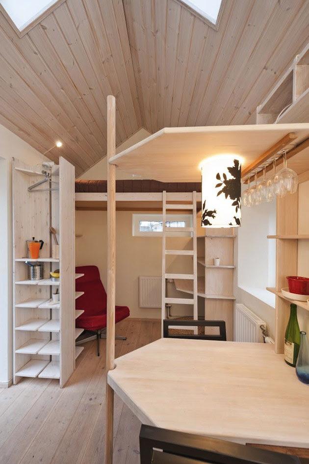 Tiny Studio Flat For Students   iDesignArch   Interior Design ...
