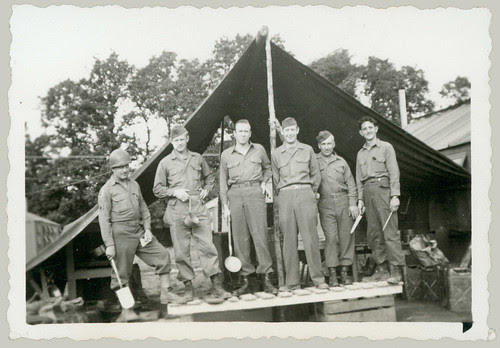 Six men in uniform