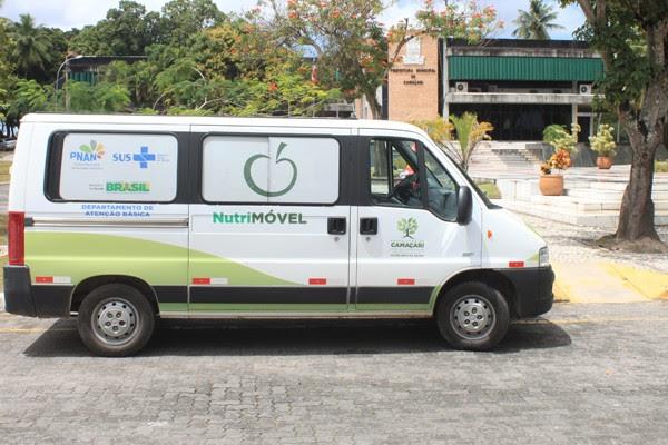 Programa Nutrimóvel em Camaçari é referência da Bahia (Foto: Agnaldo Silva/Divulgação)