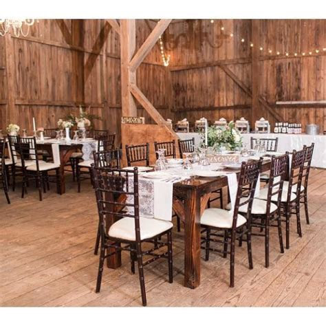 Country Creek Farmhouse Tables   Event Rentals