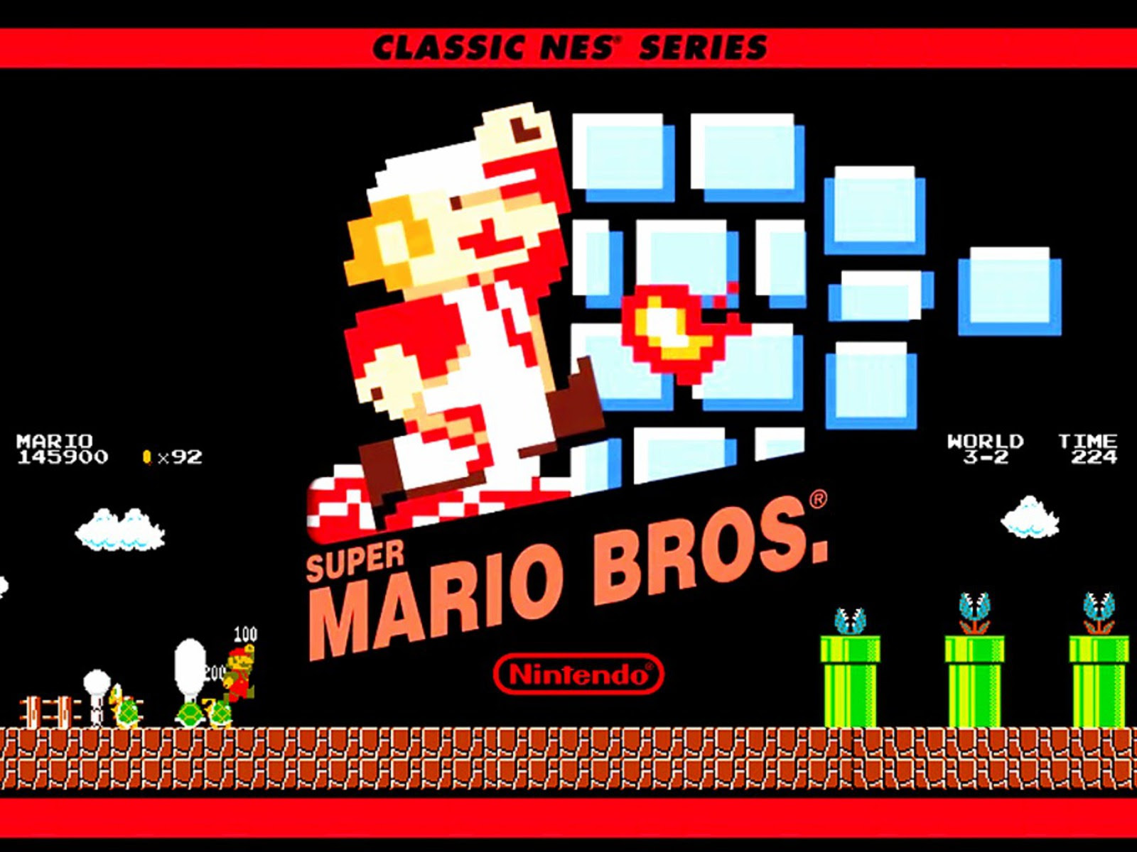 Super Mario Bros Super Mario Bros Wallpaper 33104594 Fanpop