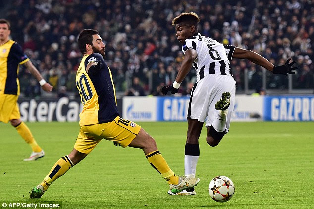 Pogba is seen as one of the hottest prospects in European football after a series of stunning displays