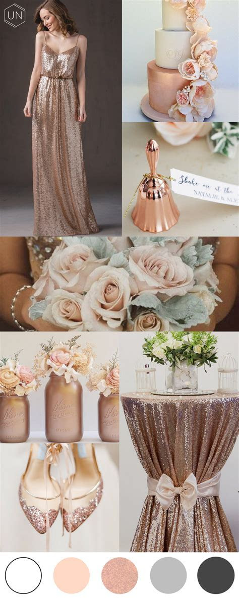 Rose gold wedding inspiration ? unbridely